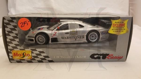 MAISTO GT RACING 1/18 CLK GTR