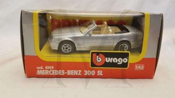 MERCEDES BENZ 300SL SILVER