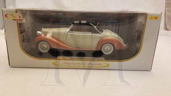 SIGNATURE MODEL 1/18 1950 170S CABRIOLET