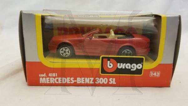 MERCEDES BENZ 300SL RED